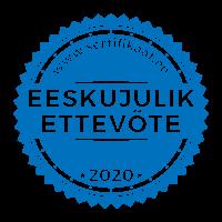 Eeskujulik Ettevõte Sertfikaat 2020